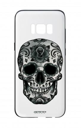 Cover Bicomponente Samsung S8 - Teschio calavera scuro