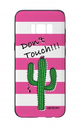Cover Bicomponente Samsung S8 - Cactus Don't Touch