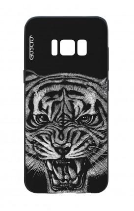 Cover Bicomponente Samsung S8 - Tigre nera