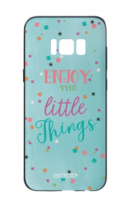 Cover Bicomponente Samsung S8 - le piccole cose azzurra