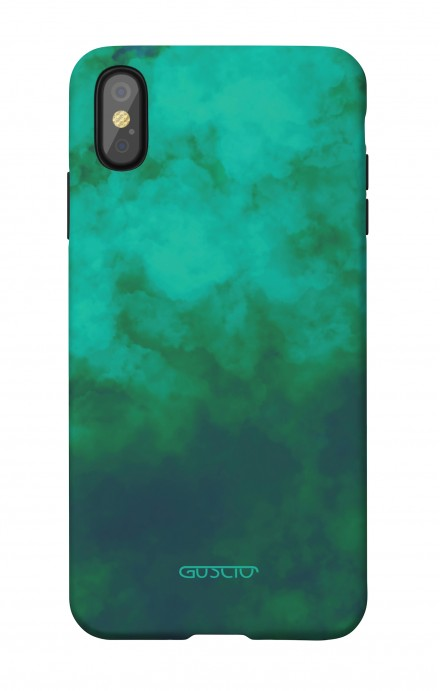1. Cover Soft Touch Apple iPhone X/XS - Emerald Cloud