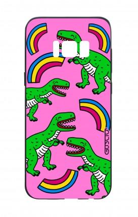 Cover Bicomponente Samsung S8 - T-Rex pattern