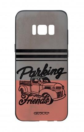 Cover Bicomponente Samsung S8 - Parking Friends