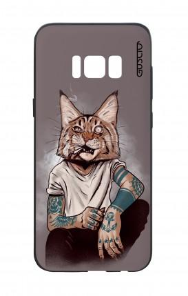 Cover Bicomponente Samsung S8 - Lince Tattoo
