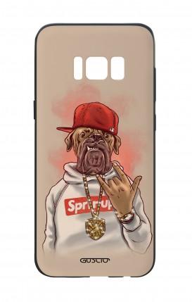 Cover Bicomponente Samsung S8 - Mastino Rap