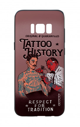 Cover Bicomponente Samsung S8 - Tattoo History
