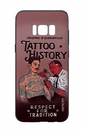 Samsung S8 White Two-Component Cover - Tattoo History
