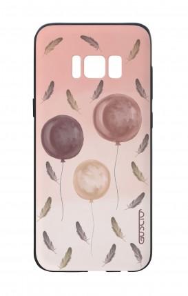 Cover Bicomponente Samsung S8 - 3 Palloncini rosa
