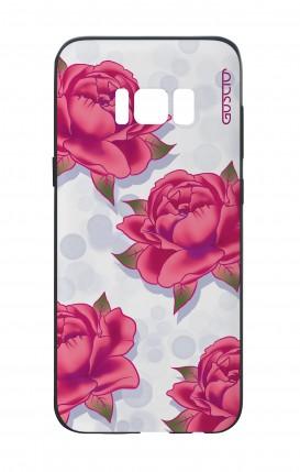 Cover Bicomponente Samsung S8 - Pattern di rose
