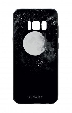 Samsung S8 White Two-Component Cover - Moon
