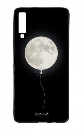Cover Bicomponente Samsung A70  - Palloncino lunare
