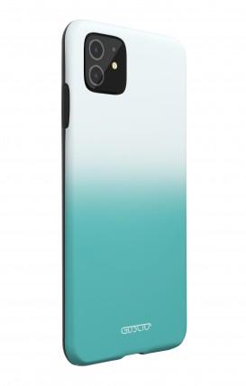 Cover Bicomponente Samsung S8 Plus - Foglie azzurre