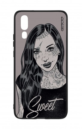 Huawei P20 WHT Two-Component Cover - Sweet Pin Up
