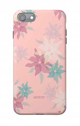 Soft Touch Case Apple iPhone 7/8/SE - Soft Flower