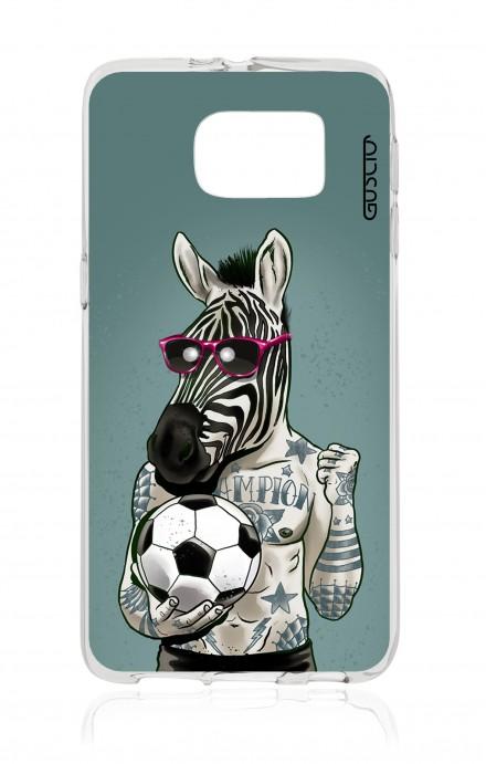 Cover TPU Samsung Galaxy S7 - Zebra