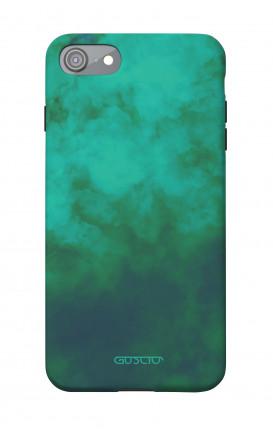 Soft Touch Case Apple iPhone 7/8/SE - Emerald Cloud
