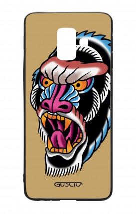 Cover Bicomponente Samsung A6 WHT - Gorilla Tattoo su ocra