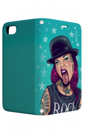 Cover STAND Apple iphone 7/8 - Ragazza linguaccia