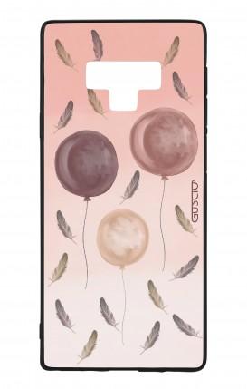 Cover Bicomponente Samsung Note 9 WHT - 3 Palloncini rosa