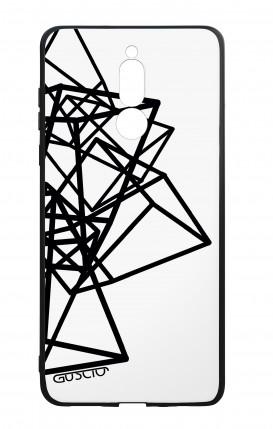 Cover Bicomponente Huawei Mate 10 Lite - Figure geometriche