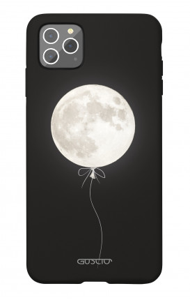 Soft Touch Case Apple iPhone 11 PRO MAX - Moon Balloon