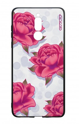 Huawei Mate10Lite WHT Two-Component Cover - Rose pattern