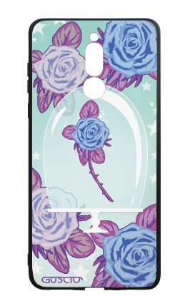 Cover Bicomponente Huawei Mate 10 Lite - Rosa incantata
