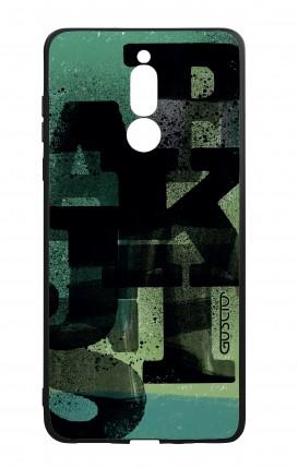 Cover Bicomponente Huawei Mate 10 Lite - Lettere su verde