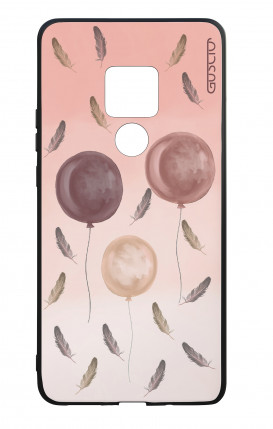 Cover Bicomponente Huawei Mate 20 - 3 Palloncini rosa