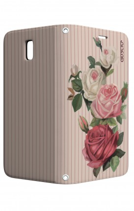 Case STAND Samsung J5 2017 - Roses and stripes