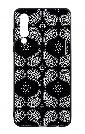 Huawei P30 WHT Two-Component Cover - Bandana pattern