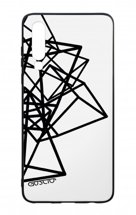 Huawei P30 WHT Two-Component Cover - Geometric shapes