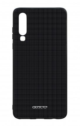 Huawei P30 WHT Two-Component Cover - Small Checks