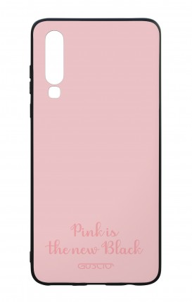 Huawei P30 WHT Two-Component Cover - Pink is the new Black