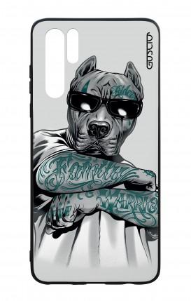Cover Bicomponente Huawei P30PRO - Pitbull tatuato