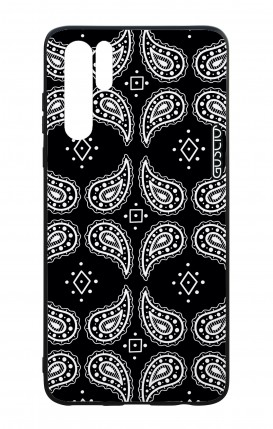Huawei P30PRO WHT Two-Component Cover - Bandana pattern