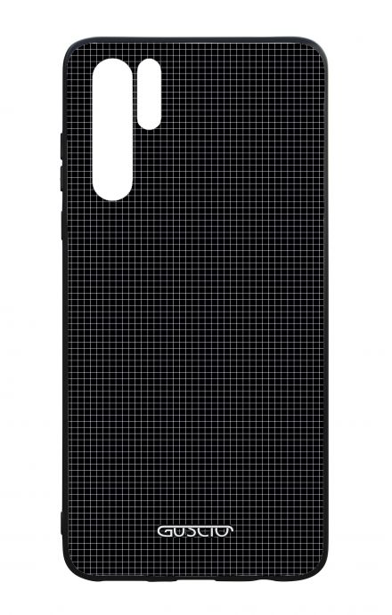 Huawei P30PRO WHT Two-Component Cover - Small Checks