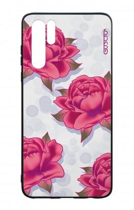 Cover Bicomponente Huawei P30PRO - Pattern di rose
