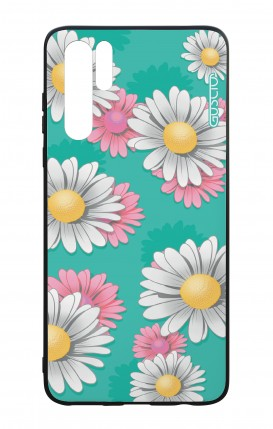 Huawei P30PRO WHT Two-Component Cover - Daisy Pattern