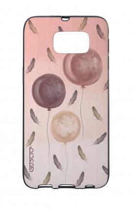 Cover Bicomponente Samsung S6  - 3 Palloncini rosa