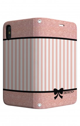 Cover STAND Apple iphone X/XS - Rosa romantico