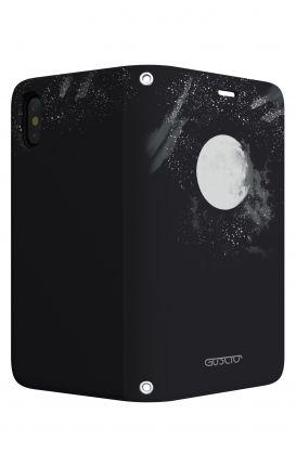 Cover LG K10 - Scritte in bianco e nero