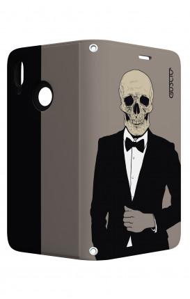 Case STAND Huawei P20 Lite - Tuxedo Skull