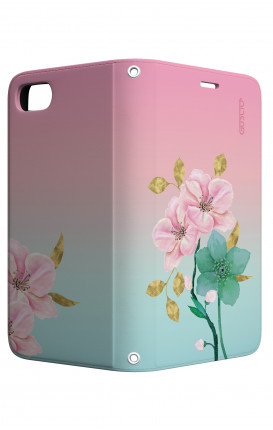 Cover STAND Apple iphone 6/6s - Fiori rosa