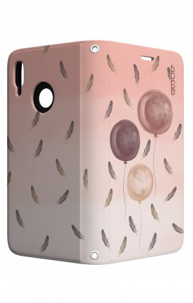 Cover STAND Huawei P20 Lite - 3 Palloncini rosa