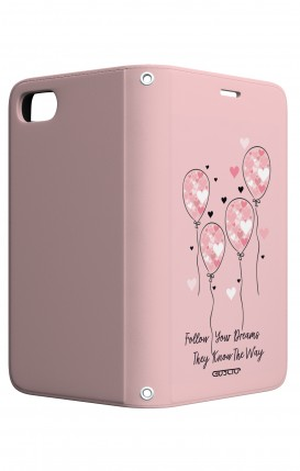 Cover STAND Apple iphone 7/8 - Palloncini rosa