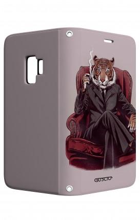 Case STAND Samsung S9 - Elegant Tiger