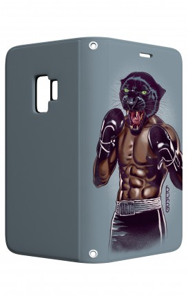 Cover STAND Samsung S9 - Pugile Pantera