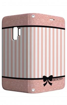 Cover STAND Samsung S9 - Rosa romantico
