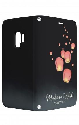 Cover STAND Samsung S9 - Lanterne dei desideri
